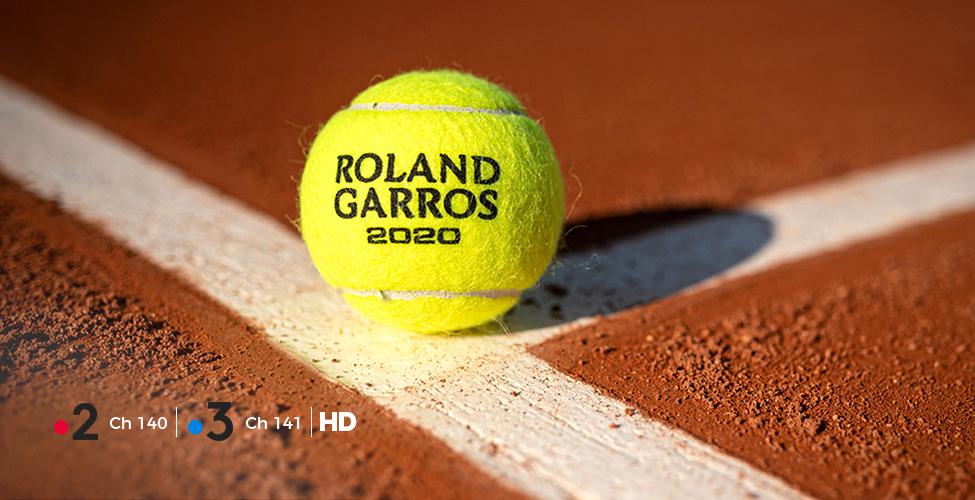 Tennis : Suivez Roland Garros 2020 sur my.t