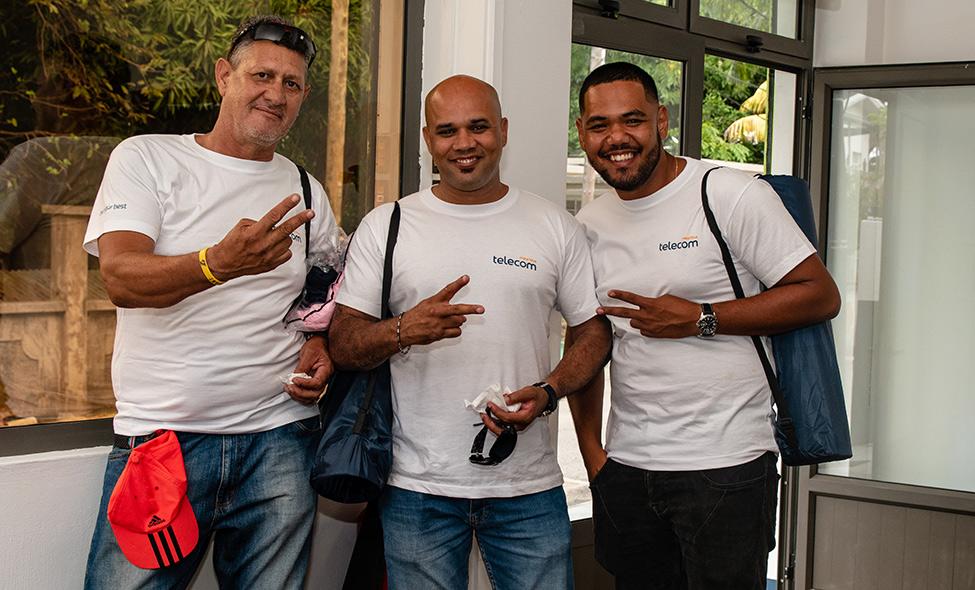 Wellness : les employés de MT Rodrigues gâtés