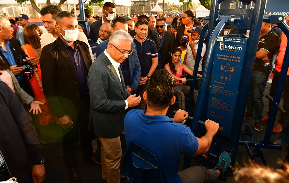 MUGA La Source inauguré : et de 4 pour la Mauritius Telecom Foundation