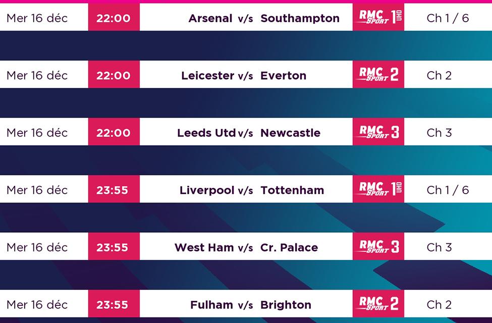 Liverpool v/s Tottenham, duel au sommet à suivre en direct sur my.t