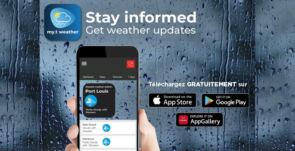 my.t weather app : les infos météo à portée de main