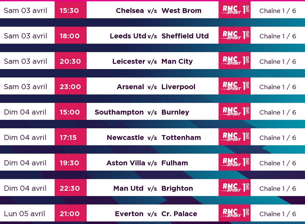 Leicester v/s Man City et Arsenal v/s Liverpool : deux superbes affiches à suivre en LIVE sur my.t