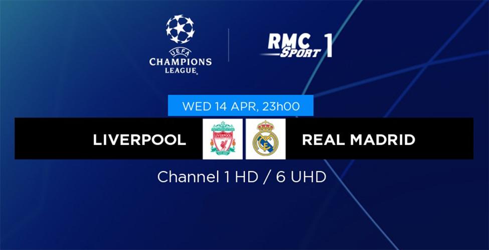 Quarts de finale retour de la Champions League : Liverpool v/s Real Madrid et Borussia Dortmund v/s Man City en LIVE sur my.t