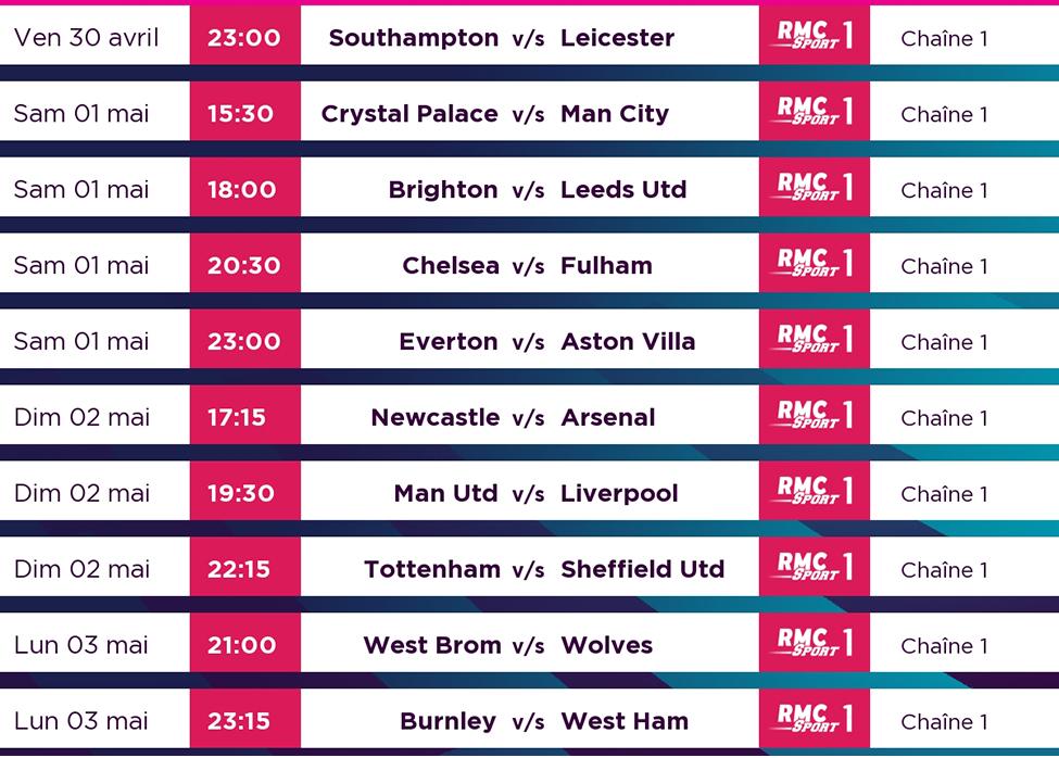 Manchester United v/s Liverpool : à suivre en LIVE sur my.t dimanche 2 mai à 19h30