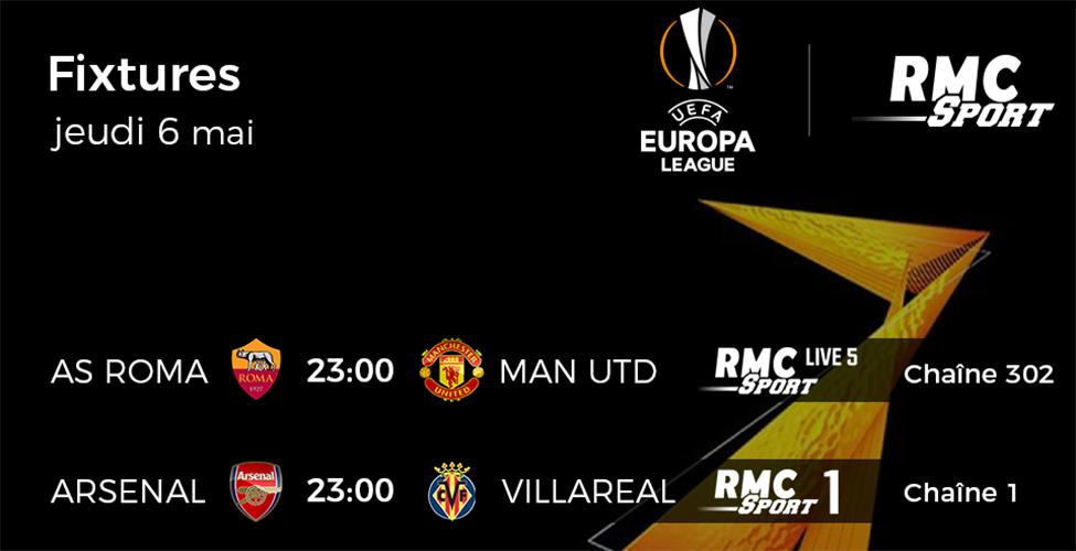 Europa League : suivez les demi-finales retour en direct sur my.t