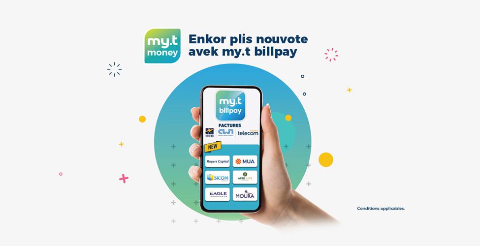 Avec my.t billpay réglez vos différentes mensualités et factures directement de votre smartphone