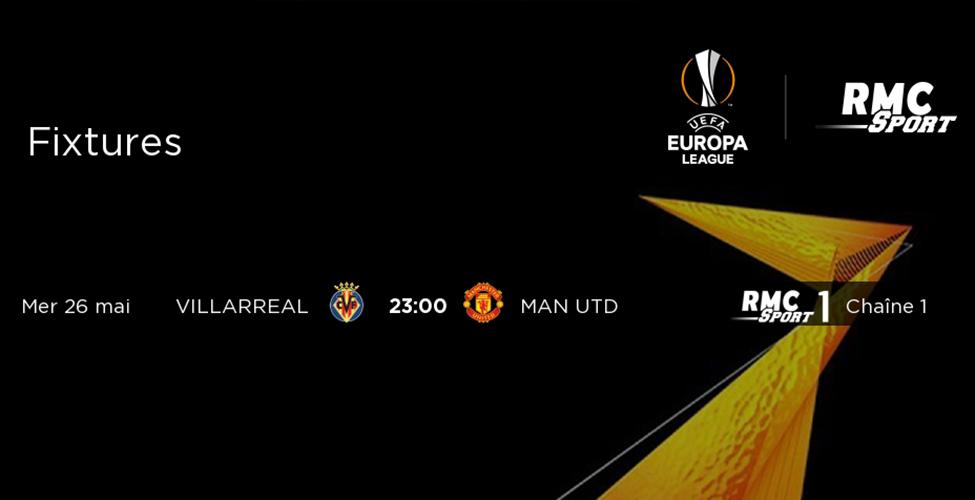Villarreal v/s Manchester United, une superbe affiche à suivre en direct sur my.t mercredi 26 mai à 23h
