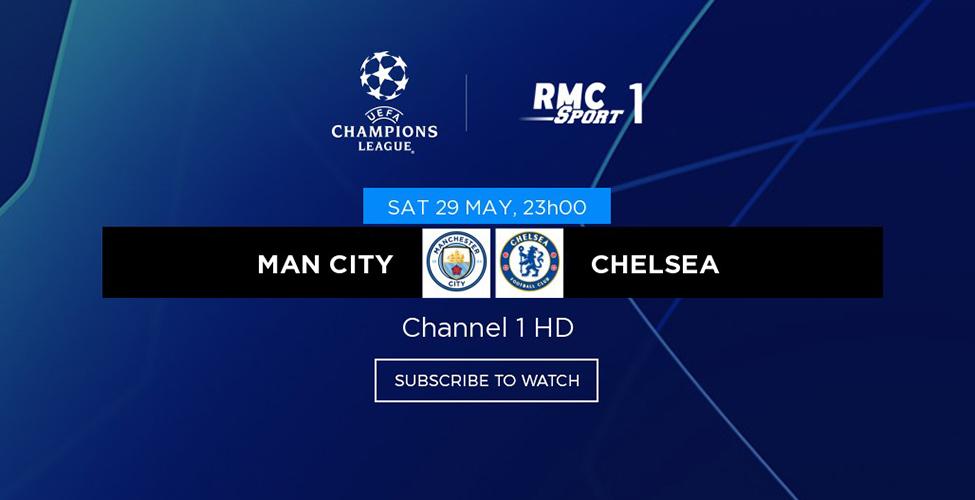 Man City v/s Chelsea, une finale 100% britannique à vivre en LIVE sur my.t samedi 29 mai à 23 h