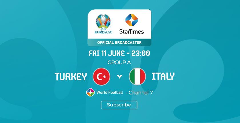 Suivez le coup d'envoi de l'Euro 2020 en direct sur my.t ce soir à 23 heures
