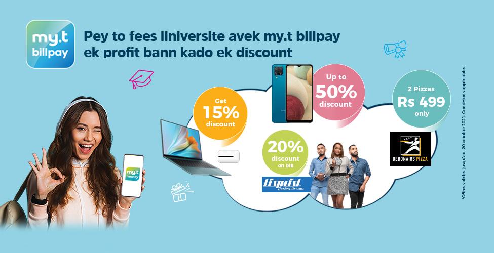 Avec my.t billpay, payez vos frais universitaires directement de votre smartphone, sans vous déplacer