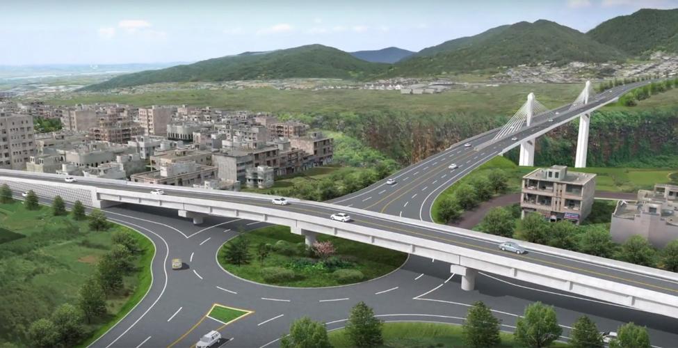 Décongestion routiere : les travaux de construction de l'autoroute A1-M1 lancés
