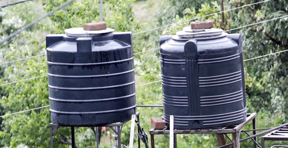 Water Tank Grant Scheme : une somme de Rs 50 millions mise à la disposition des demandeurs