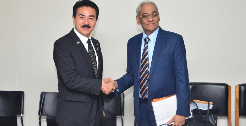 Un ambitieux chantier de coopération Maurice - Japon se met en place