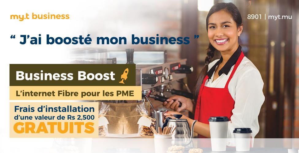 Souscrivez à Business Boost et faites décoller votre business tout en économisant Rs 2,500