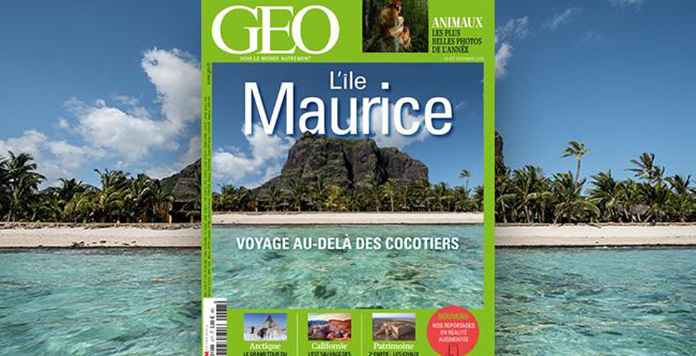 L'île Maurice fait la couverture du magazine GEO en novembre