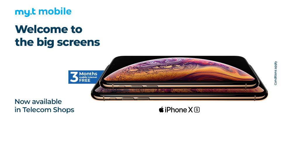 The iPhone Xs and iPhone Xs Max now available in Telecom Shops