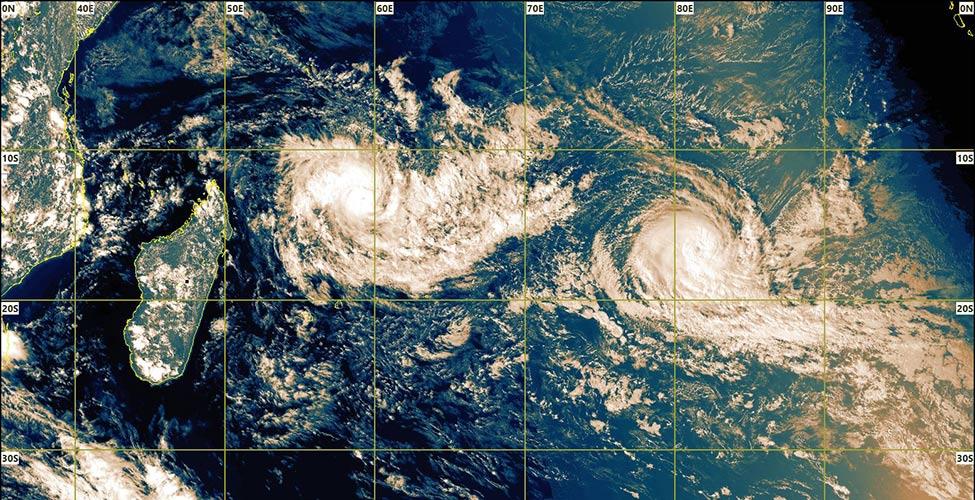 Cyclone Cilida : un avertissement de cyclone de Classe I en vigueur à Maurice
