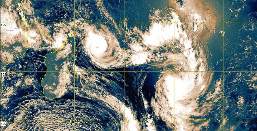 Gelena : un avertissement de cyclone de Classe I en vigueur à Maurice