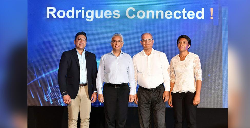 L'internet haut débit lancé à Rodrigues