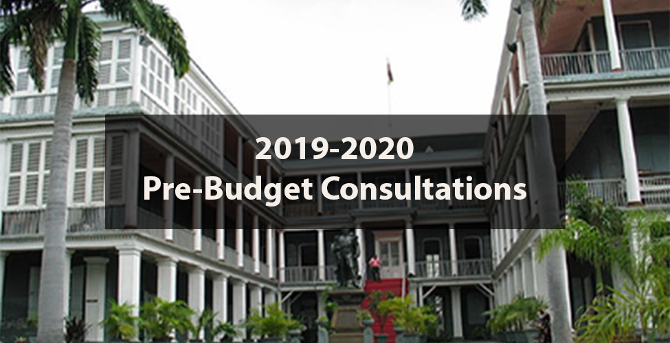 2019-2020 Pre-Budget Consultations: the Ministry of Finance welcomes ideas and suggestions