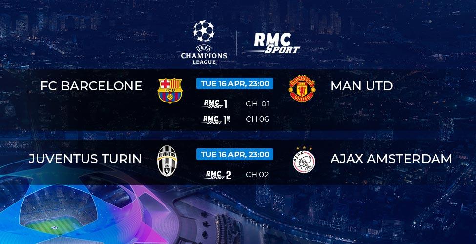 Ligue des Champions : Barcelone v/s Man United en live et en 4K sur my.t ce mardi 16 avril