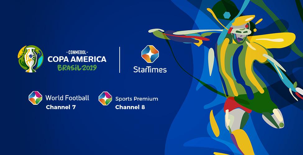 La Copa America est sur my.t