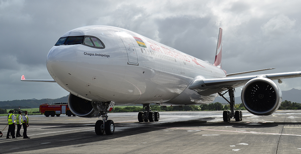 Air Mauritius takes delivery of second Airbus A330-900neo 'Chagos Archipelago'