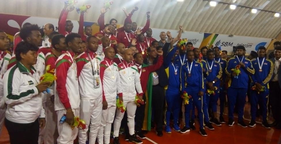 Volleyball : Maurice et les Seychelles s'offrent la médaille d'or