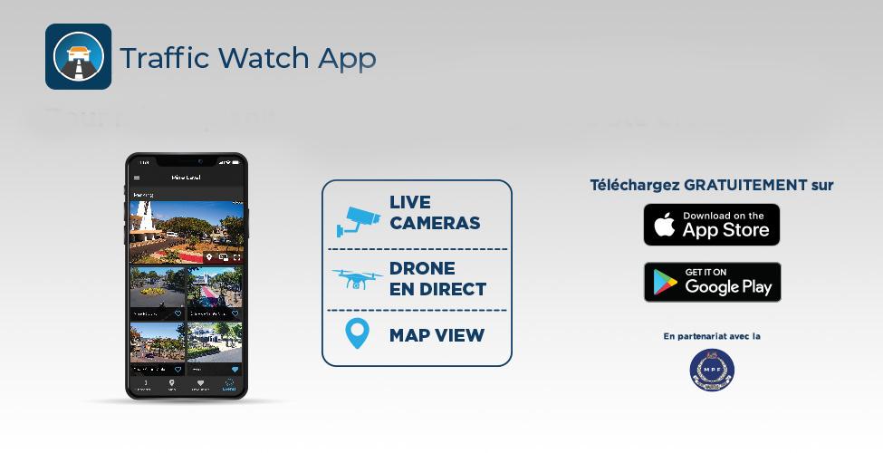 Suivez en direct les déplacements de Sa Sainteté le Pape à Sainte Croix grâce à Traffic Watch