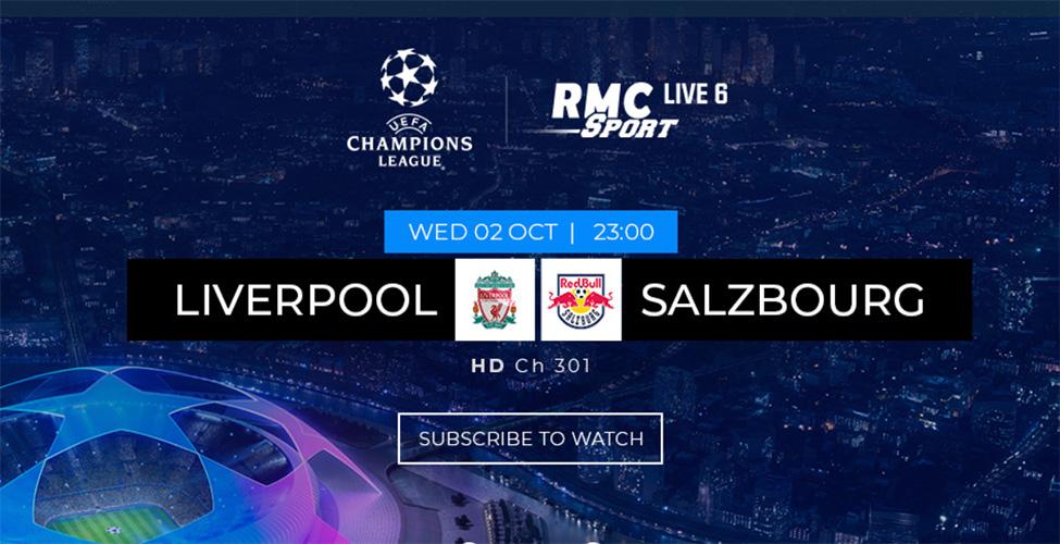 La Ligue des Champions en direct sur my.t ce mercredi 2 octobre