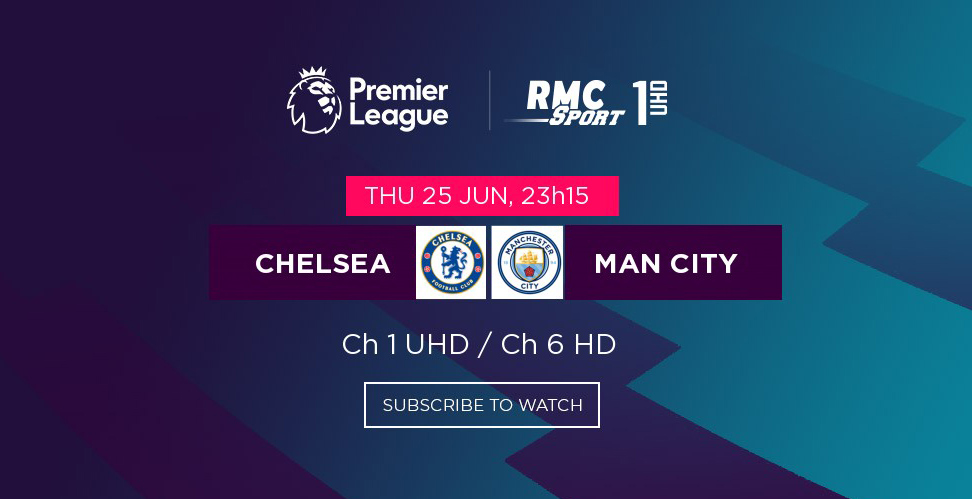 Chelsea v/s Man City en direct sur my.t ce soir à 23h15