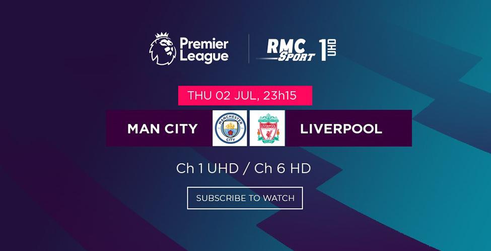 Man City v/s Liverpool - la 'passation de pouvoir' en direct sur my.t ce soir à 23h05
