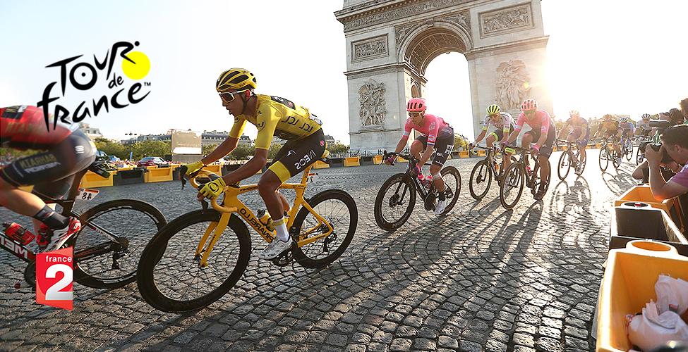 Cyclisme : ce week-end, suivez les dernières étapes et l'arrivée du Tour de France 2020 sur my.t