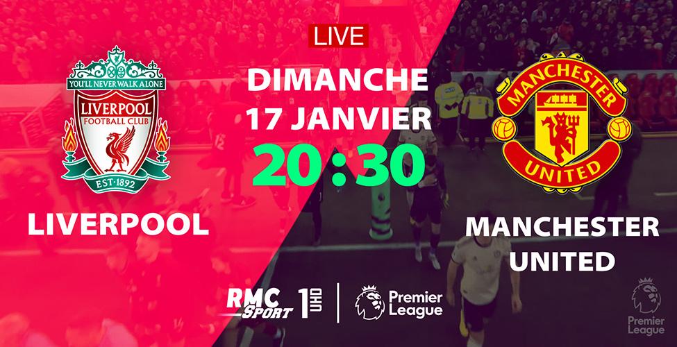 Les Red Devils vont défier les Champions en titre. Suivez le choc Liverpool v/s Manchester United en LIVE sur my.t dimanche à 20h30