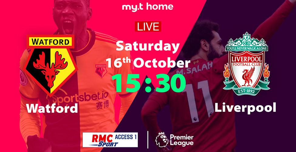 8e journée Premier League : de belles affiches à suivre en LIVE sur my.t