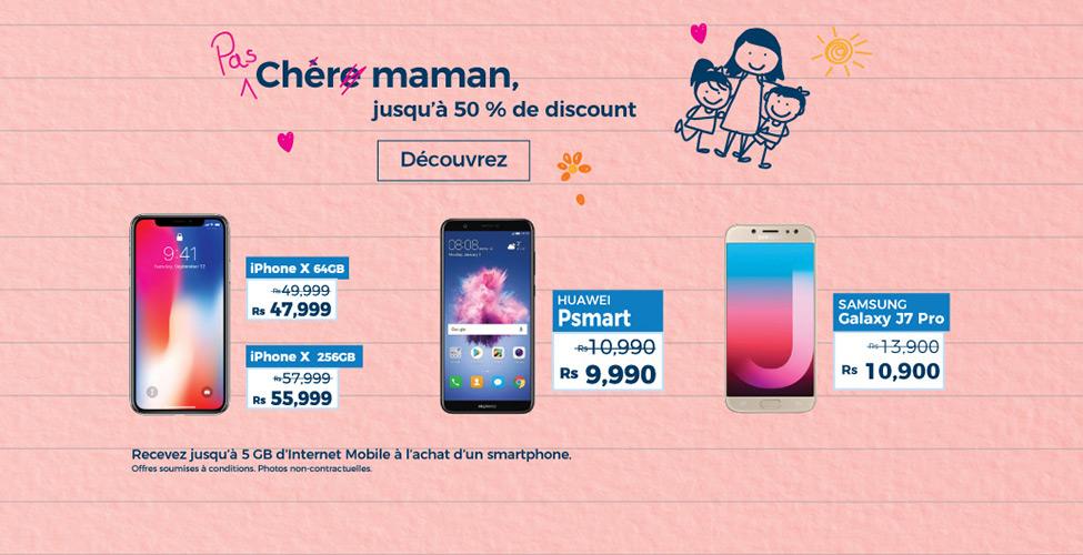 Fête des mères : de superbes promos sur les smartphones dans les Telecom Shops
