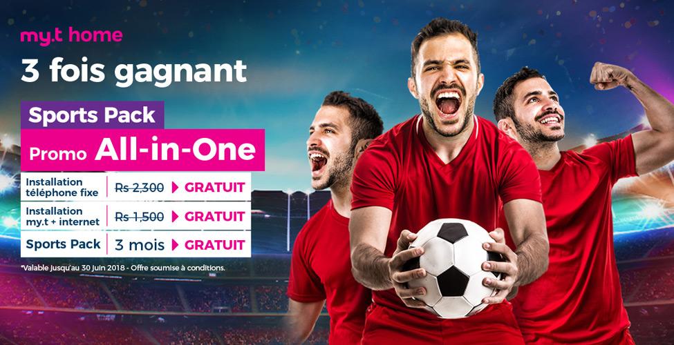 La Coupe du Monde se joue 'home', en Live et en HD sur my.t