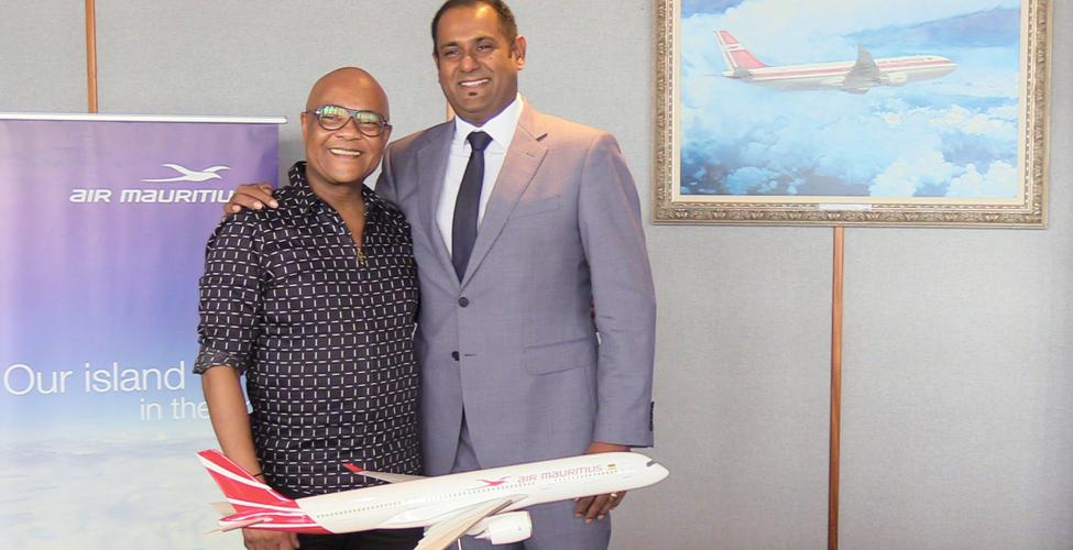 Lancement de la musique générique d'Air Mauritius