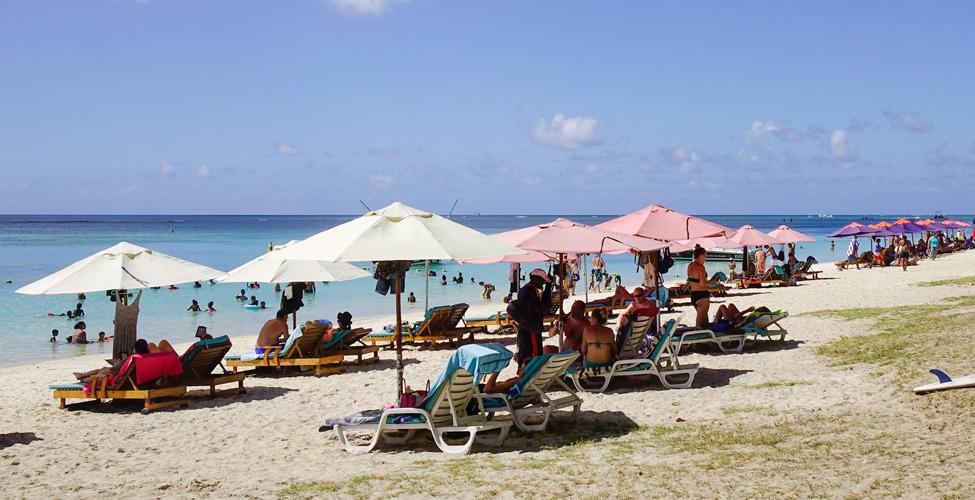 Le nombre de touristes à Maurice en légère hausse