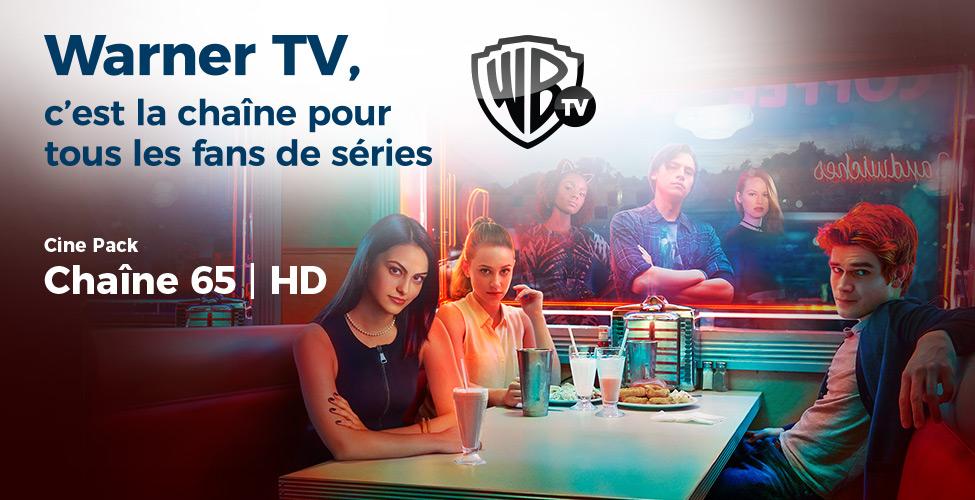 Ce mardi 16 octobre : dernier jour de 'free viewing' pour Warner TV,  la  célèbre chaîne  de  séries