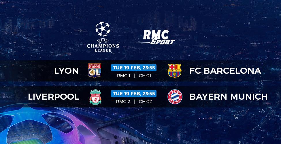 Ligue des Champions : Liverpool v/s Bayern Munich et Lyon v/s Barcelone en direct sur my.t ce mardi 19 février