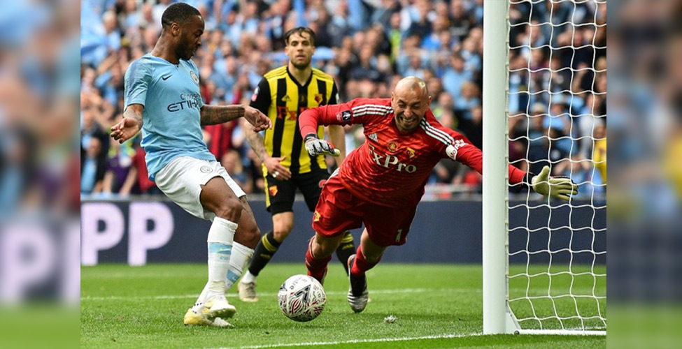 FA Cup final: Man City thrash Watford 6-0 to complete domestic treble