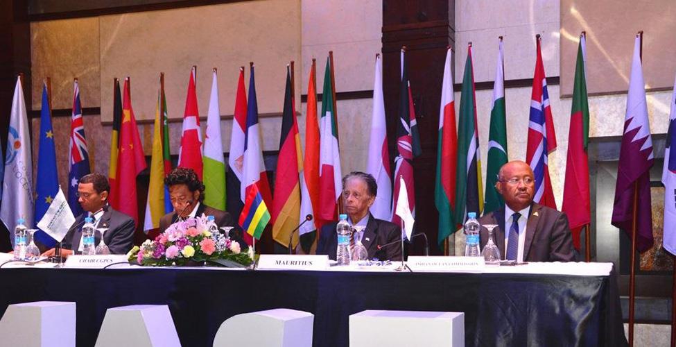 Mobilisation internationale pour la sécurité maritime dans l'océan Indien occidental