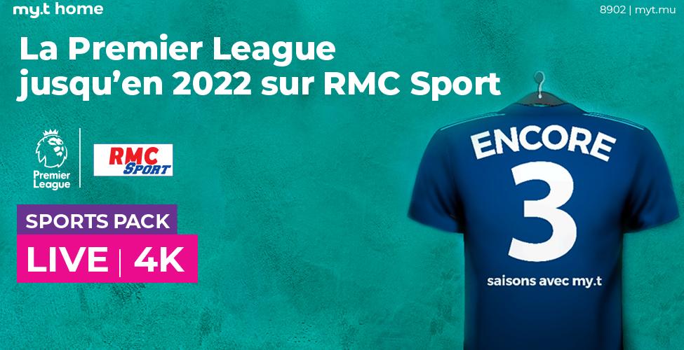 La Premier League sur my.t jusqu'en 2022