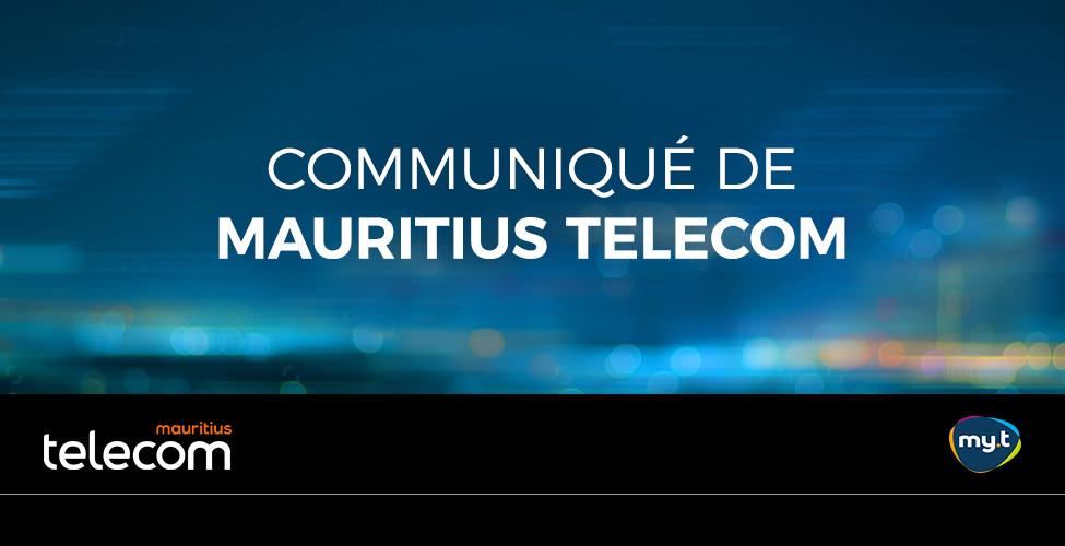 Travaux de rehaussement sur le réseau mobile de Mauritius Telecom