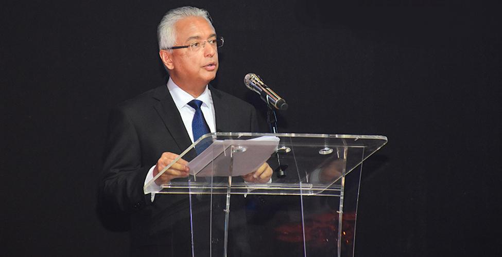 MCCI - Pravind Jugnauth : Maurice a enregistré un taux de croissance de 3,6% du PIB en 2019
