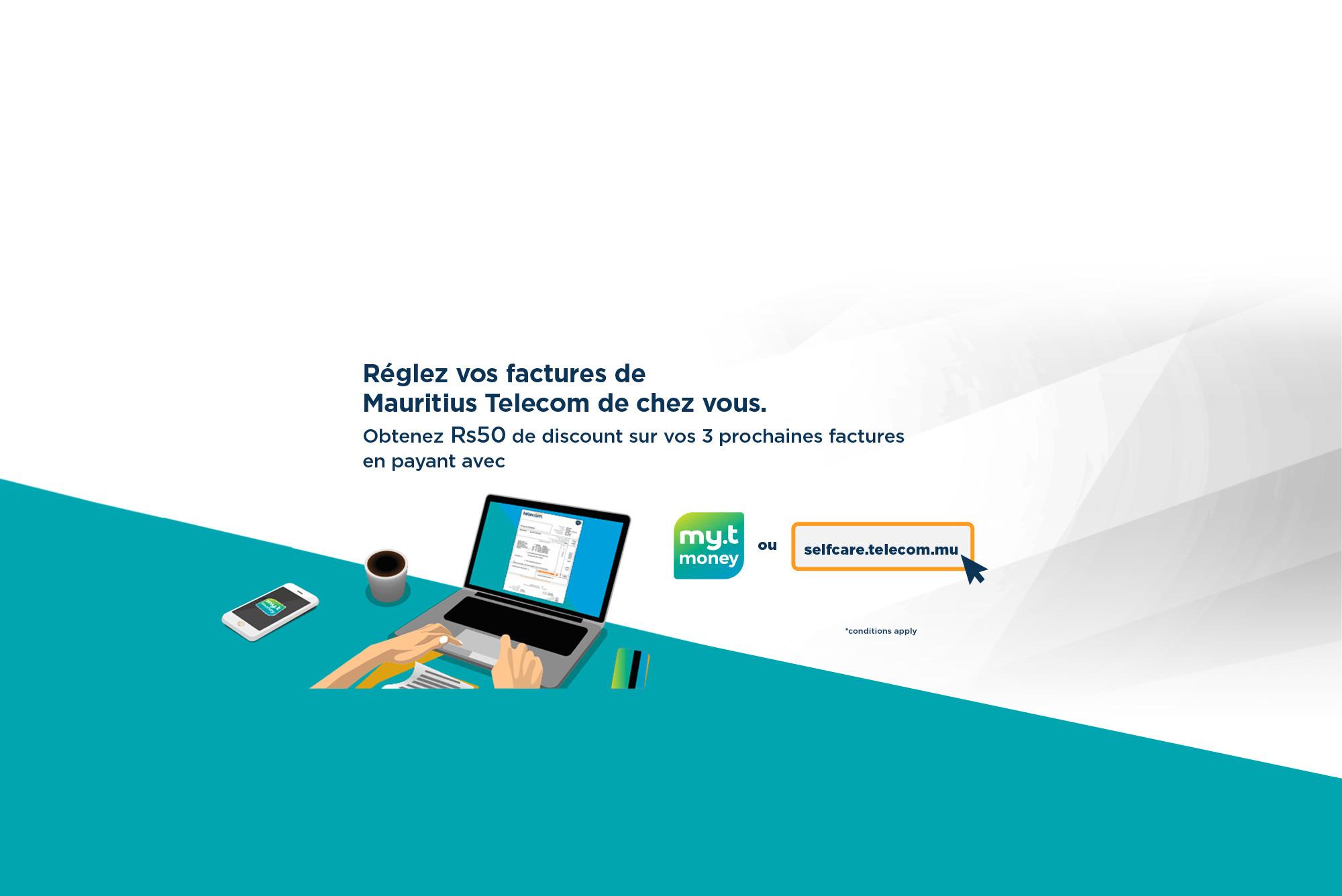 selfcare Mauritius Telecom