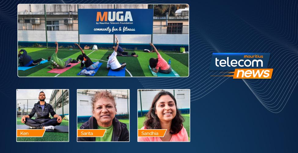 MUGA Triolet : Reprise des activités dans la bonne humeur