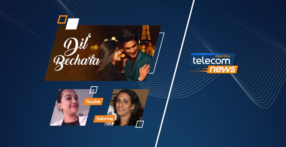 «Dil Bechara», le dernier film de Sushant Singh Rajput, ce dimanche sur my.t