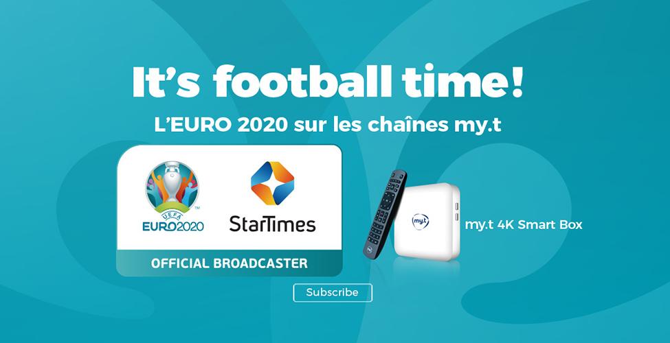 Suivez tous les matchs de l'Euro 2020 en direct sur my.t